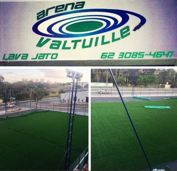 Aluguel de campo de futebol em Goiânia