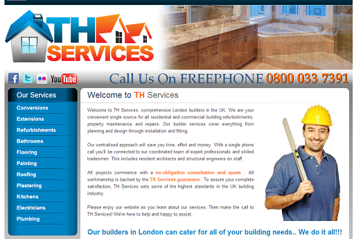 Builders in London, Best Builders in London, for all your needs